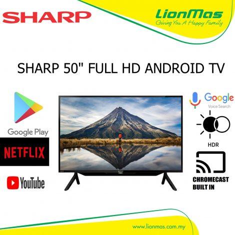 SHARP 50 INCH FULL HD ANDROID TV 2TC50BG1X