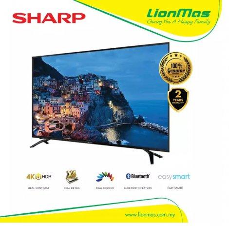 "SHARP 50"" 4K HDR UHD SMART TV 4TC50AH1X"