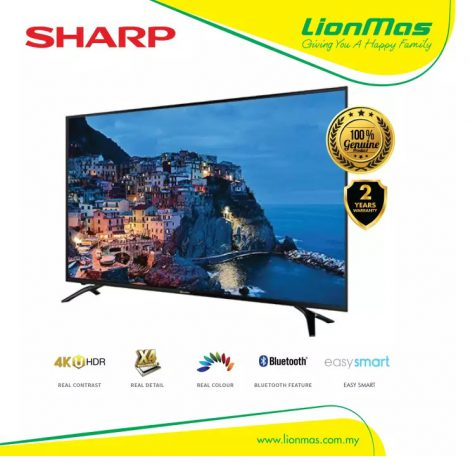"SHARP 60"" 4K HDR UHD SMART TV 4TC60AH1X"