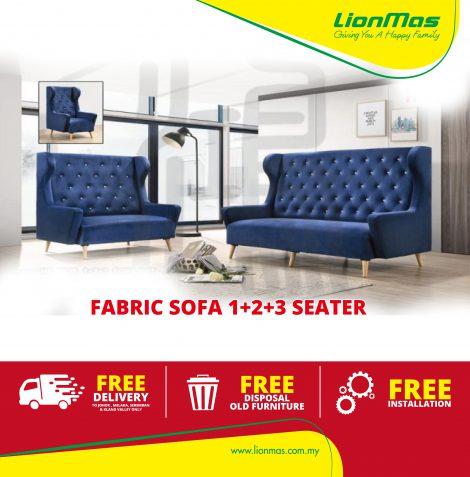 Luxury Design Sofa 1+2+3 seater